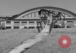 Image of ice covered slide Venice Beach Los Angeles California USA, 1938, second 12 stock footage video 65675042786
