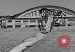 Image of ice covered slide Venice Beach Los Angeles California USA, 1938, second 15 stock footage video 65675042786
