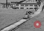 Image of ice covered slide Venice Beach Los Angeles California USA, 1938, second 24 stock footage video 65675042786