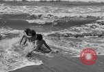 Image of ice covered slide Venice Beach Los Angeles California USA, 1938, second 29 stock footage video 65675042786