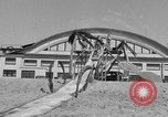 Image of ice covered slide Venice Beach Los Angeles California USA, 1938, second 31 stock footage video 65675042786