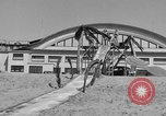 Image of ice covered slide Venice Beach Los Angeles California USA, 1938, second 33 stock footage video 65675042786