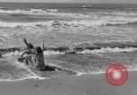 Image of ice covered slide Venice Beach Los Angeles California USA, 1938, second 39 stock footage video 65675042786
