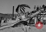 Image of ice covered slide Venice Beach Los Angeles California USA, 1938, second 44 stock footage video 65675042786
