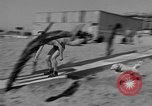 Image of ice covered slide Venice Beach Los Angeles California USA, 1938, second 46 stock footage video 65675042786