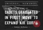 Image of USAAC Aviation Cadets graduate in California Glendale California USA, 1939, second 4 stock footage video 65675042793