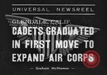 Image of USAAC Aviation Cadets graduate in California Glendale California USA, 1939, second 6 stock footage video 65675042793