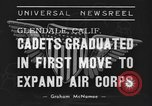 Image of USAAC Aviation Cadets graduate in California Glendale California USA, 1939, second 8 stock footage video 65675042793