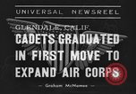 Image of USAAC Aviation Cadets graduate in California Glendale California USA, 1939, second 9 stock footage video 65675042793