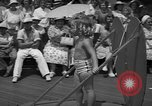 Image of children's parade on the boardwalk Ocean City New Jersey USA, 1939, second 11 stock footage video 65675042797