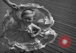 Image of children's parade on the boardwalk Ocean City New Jersey USA, 1939, second 21 stock footage video 65675042797