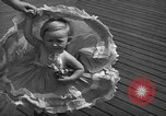 Image of children's parade on the boardwalk Ocean City New Jersey USA, 1939, second 22 stock footage video 65675042797