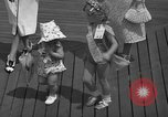 Image of children's parade on the boardwalk Ocean City New Jersey USA, 1939, second 28 stock footage video 65675042797