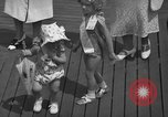 Image of children's parade on the boardwalk Ocean City New Jersey USA, 1939, second 29 stock footage video 65675042797