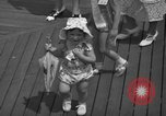 Image of children's parade on the boardwalk Ocean City New Jersey USA, 1939, second 30 stock footage video 65675042797