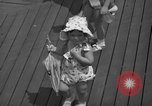Image of children's parade on the boardwalk Ocean City New Jersey USA, 1939, second 31 stock footage video 65675042797