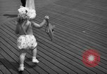Image of children's parade on the boardwalk Ocean City New Jersey USA, 1939, second 34 stock footage video 65675042797
