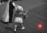 Image of children's parade on the boardwalk Ocean City New Jersey USA, 1939, second 36 stock footage video 65675042797