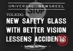 Image of safety glass Toledo Ohio USA, 1939, second 2 stock footage video 65675042798