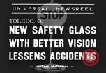 Image of safety glass Toledo Ohio USA, 1939, second 3 stock footage video 65675042798