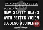 Image of safety glass Toledo Ohio USA, 1939, second 4 stock footage video 65675042798