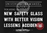 Image of safety glass Toledo Ohio USA, 1939, second 8 stock footage video 65675042798