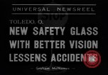 Image of safety glass Toledo Ohio USA, 1939, second 10 stock footage video 65675042798