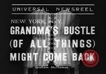 Image of Models New York United States USA, 1939, second 5 stock footage video 65675042799