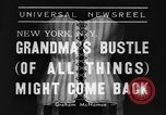 Image of Models New York United States USA, 1939, second 6 stock footage video 65675042799