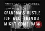 Image of Models New York United States USA, 1939, second 9 stock footage video 65675042799