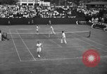 Image of men's doubles Chestnut Hill Massachusetts USA, 1939, second 20 stock footage video 65675042802