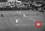 Image of men's doubles Chestnut Hill Massachusetts USA, 1939, second 21 stock footage video 65675042802