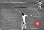 Image of men's doubles Chestnut Hill Massachusetts USA, 1939, second 23 stock footage video 65675042802