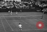 Image of men's doubles Chestnut Hill Massachusetts USA, 1939, second 49 stock footage video 65675042802
