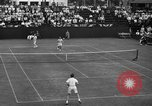 Image of men's doubles Chestnut Hill Massachusetts USA, 1939, second 50 stock footage video 65675042802