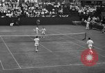 Image of men's doubles Chestnut Hill Massachusetts USA, 1939, second 60 stock footage video 65675042802