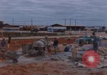 Image of mixing cement Thailand, 1966, second 5 stock footage video 65675042839