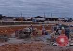 Image of mixing cement Thailand, 1966, second 16 stock footage video 65675042839