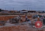Image of mixing cement Thailand, 1966, second 18 stock footage video 65675042839