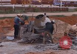 Image of mixing cement Thailand, 1966, second 19 stock footage video 65675042839