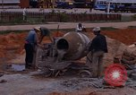Image of mixing cement Thailand, 1966, second 21 stock footage video 65675042839