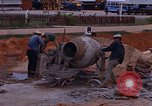 Image of mixing cement Thailand, 1966, second 24 stock footage video 65675042839