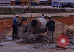Image of mixing cement Thailand, 1966, second 26 stock footage video 65675042839