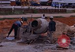 Image of mixing cement Thailand, 1966, second 27 stock footage video 65675042839