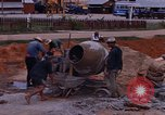 Image of mixing cement Thailand, 1966, second 29 stock footage video 65675042839
