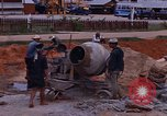 Image of mixing cement Thailand, 1966, second 30 stock footage video 65675042839
