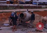 Image of mixing cement Thailand, 1966, second 31 stock footage video 65675042839