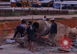 Image of mixing cement Thailand, 1966, second 32 stock footage video 65675042839