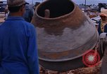 Image of mixing cement Thailand, 1966, second 37 stock footage video 65675042839