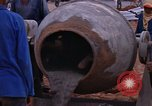 Image of mixing cement Thailand, 1966, second 39 stock footage video 65675042839